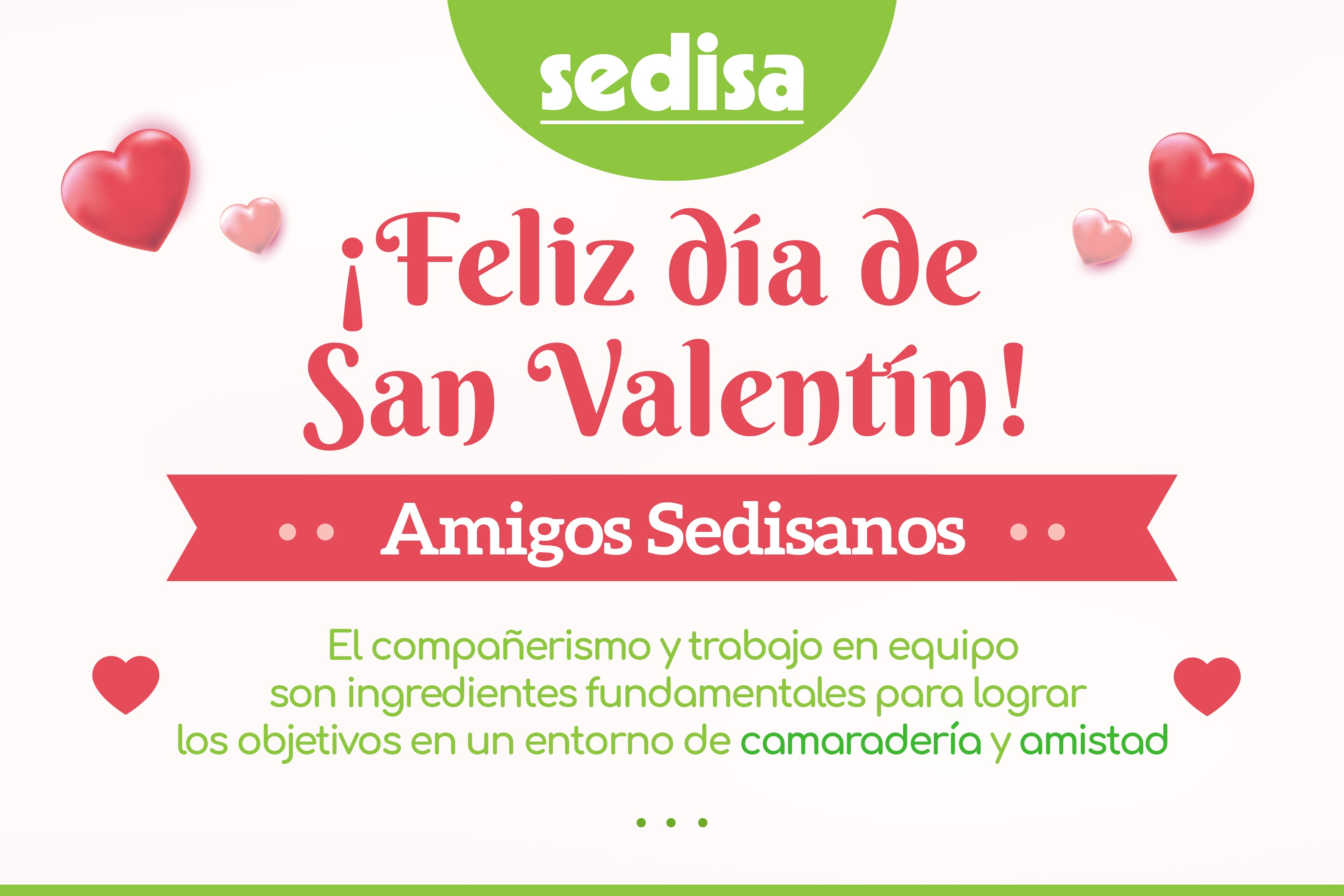 ¡Feliz San Valentín Sedisano!